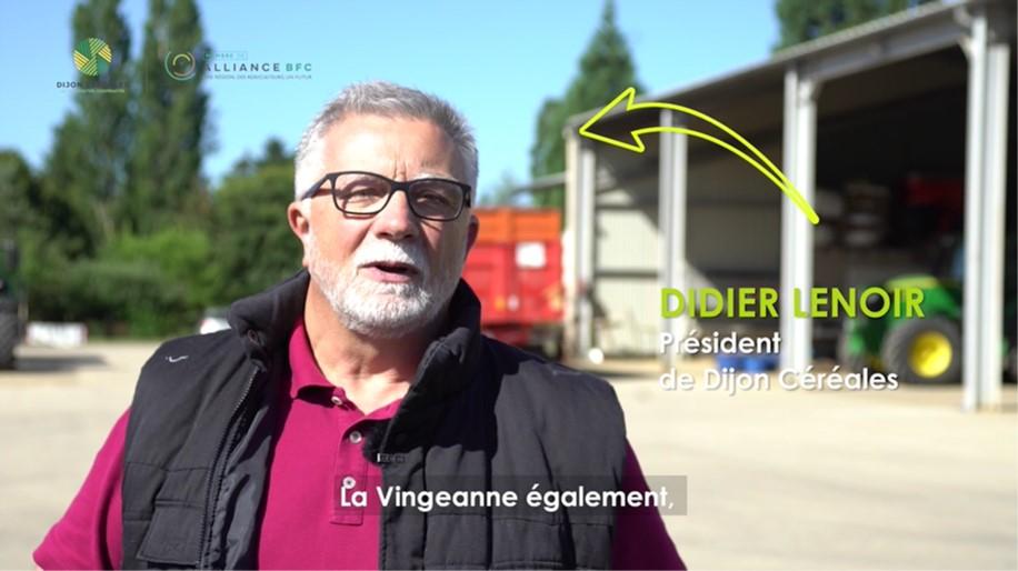 Rencontre avec Didier Lenoir, président de Dijon Céréales